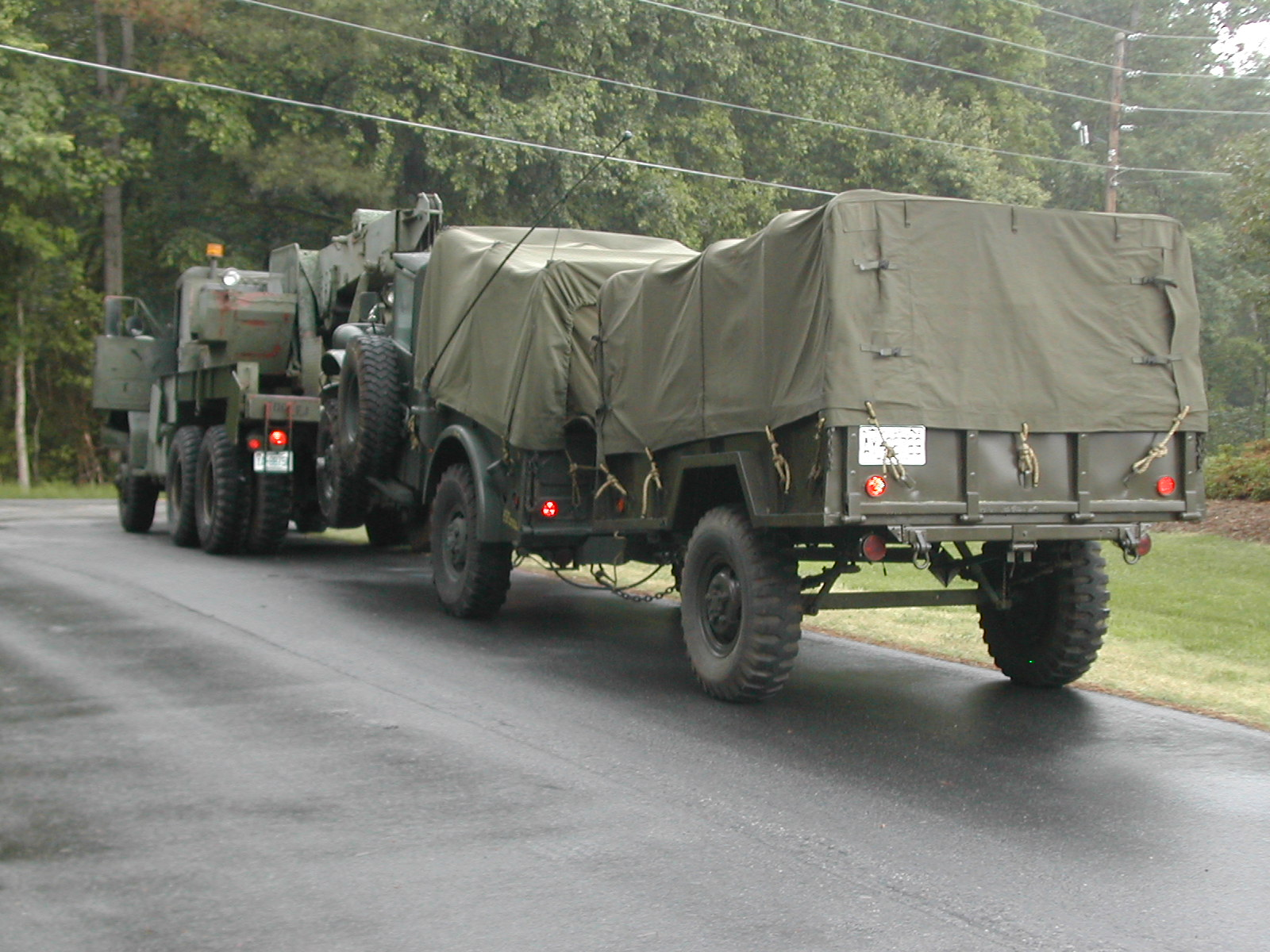 In any event  the M101 s  M101 Trailer Conversion