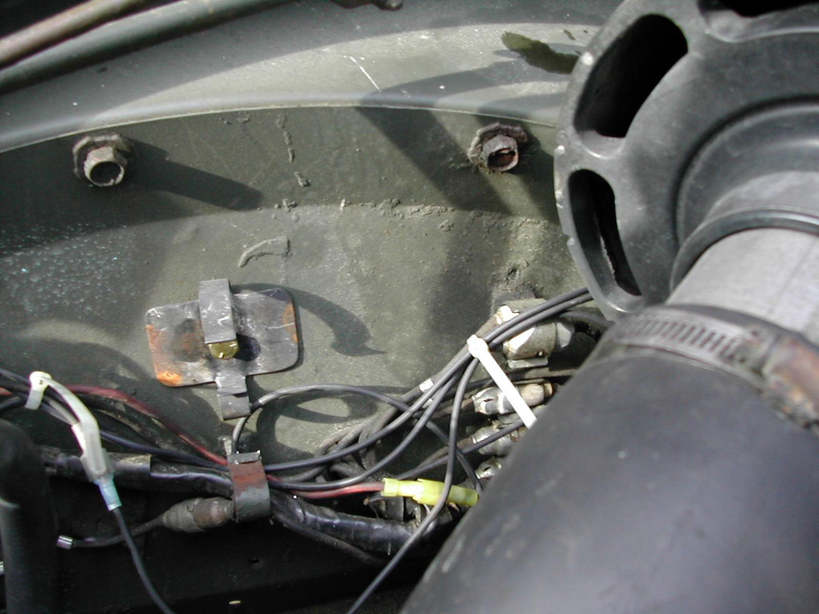 photos of my m151 heater installation in my m37 rh garbee net